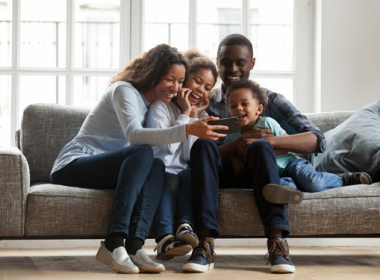 A mobile phone for Christmas doesn't mean less family time for teenagers
